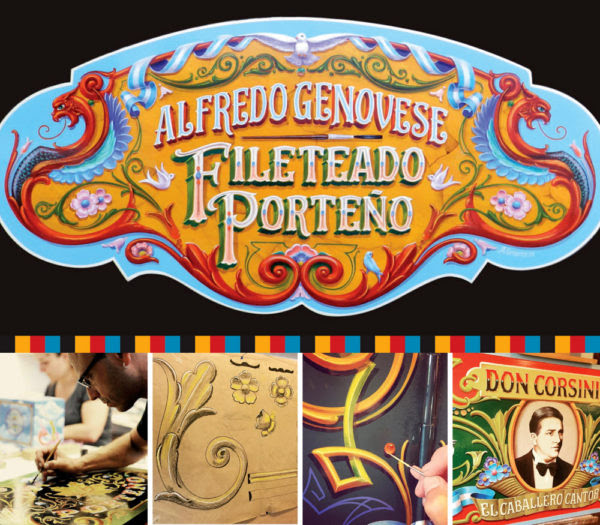 Sign Painting - Fileteado Porteño