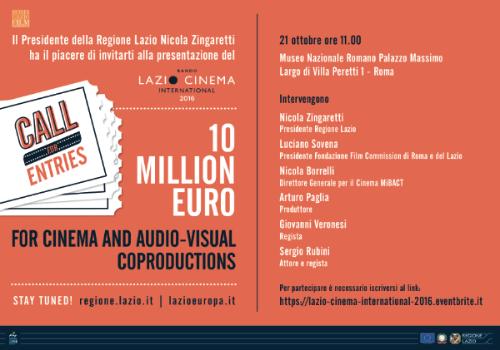 Bando Lazio Cinema International